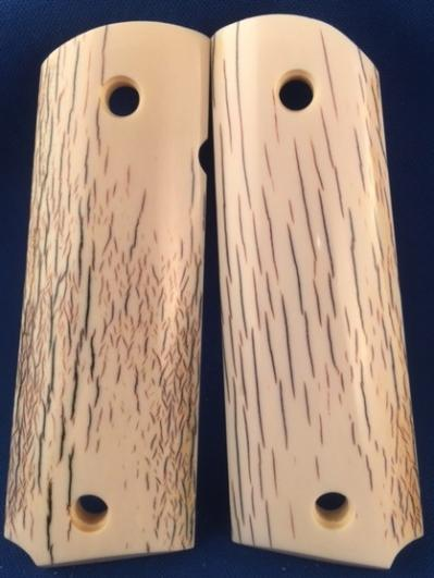 GENUINE BARK IVORY 1911 GRIPS